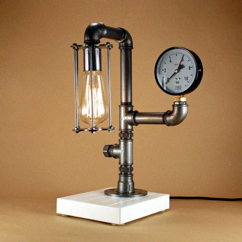 Steampunk lámpa – 10