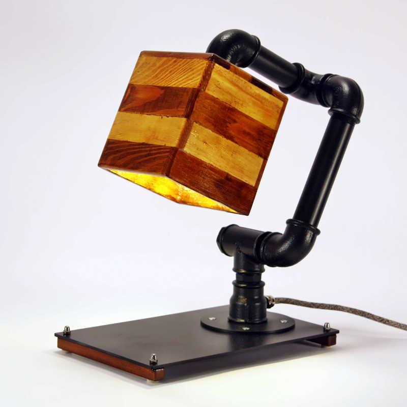 Steampunk lámpa – 15