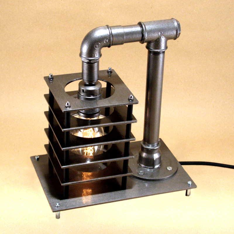 Steampunk lámpa – 5