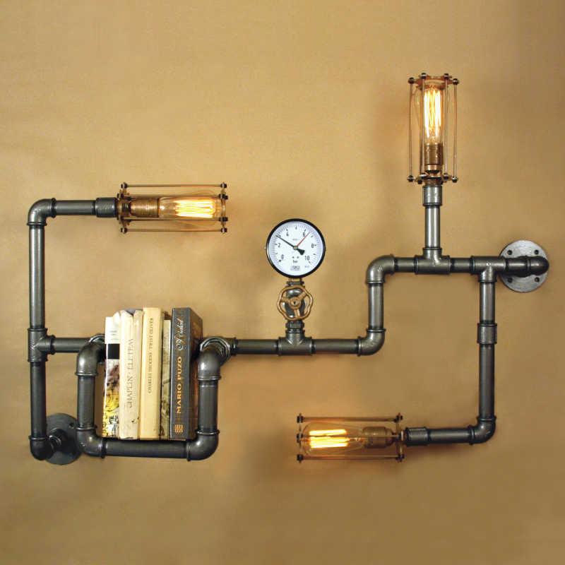 Steampunk lámpa – 7