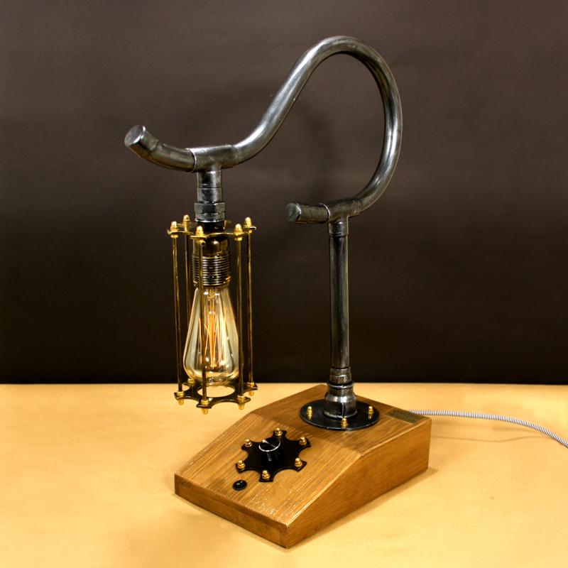 ELEPHANT, fényerőszabályzós indusztriális asztali lámpa