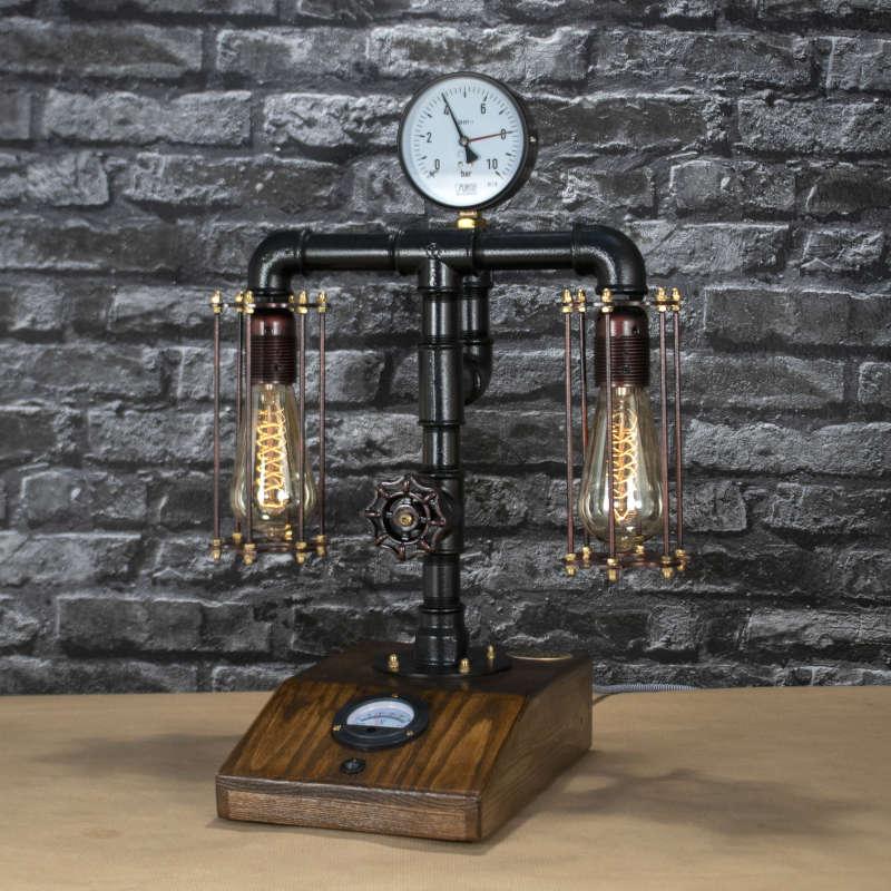 kazamer43-steampunk-lampa-1