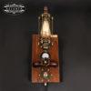 Fali fényerőszabályzós indusztriális lámpa, edison 230V, 60W, E27
