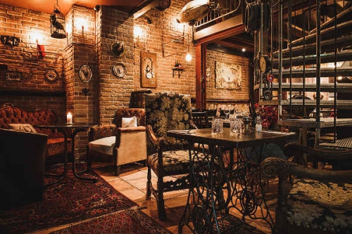 steampunk étterem