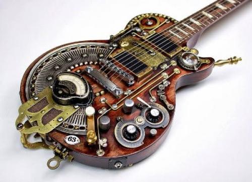 steampunk-gitár