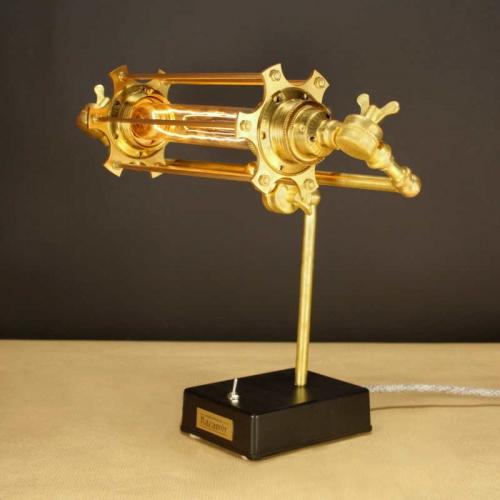 steampunk lámpa - 24